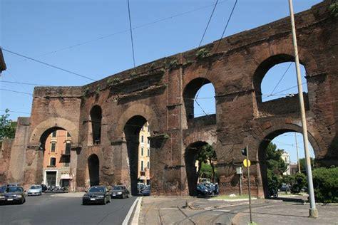 porta maggiore roma mure di aureliano e porte