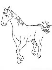 Horse Coloring Page Animals Town Free Horse Color Sheet