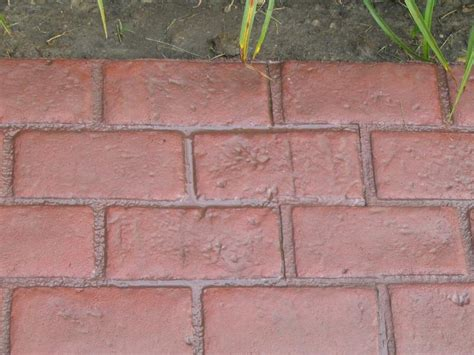 cadillac concrete runningboard brick decorative concrete