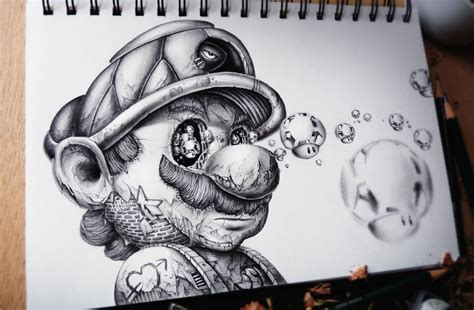 surreal drawings of iconic characters 10 pics hypersloth