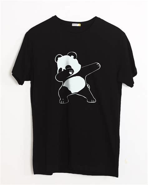 buy dabbing panda half sleeve t shirt dabbing panda mens