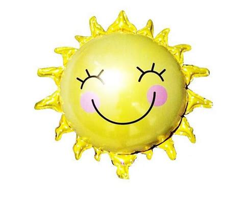Balon Foil Sun Smile Rainbow sun promotion shop for promotional sun on aliexpress