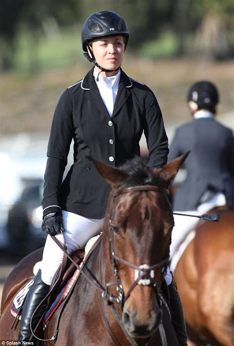uk celebrities who love horses kaley cuoco swaps jeans for jodhpurs and displays her