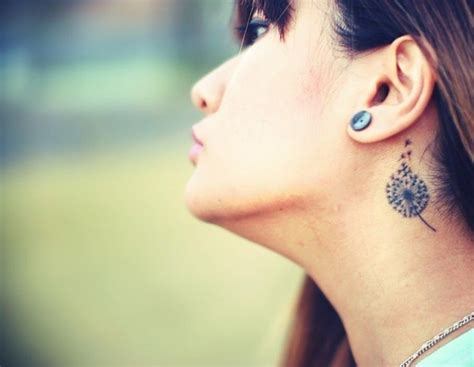 tattoo on neck for girl 50 best neck tattoo ideas for girls 2015