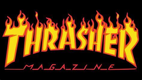 Kaos Murah Thrasher Font Burn thrasher logo thrasher symbol meaning history and evolution