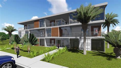 Parkview Apartments Floor Plan Cargo Architecture Park View Multi Family Sundog