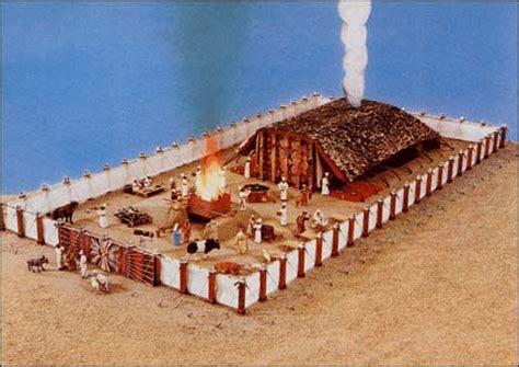 el tabernaculo o tienda de reunion de israel modelo del tabern 225 culo del encuentro