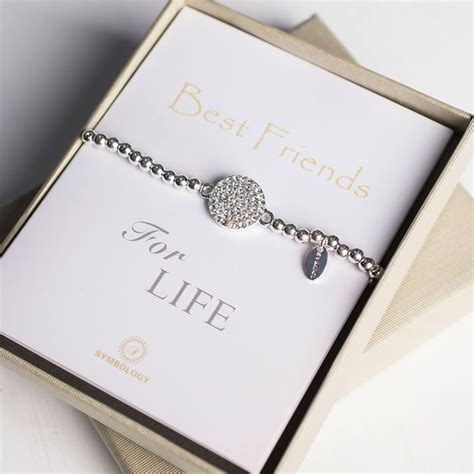 Birthday Gifts For Best Friend by Symbology Best Friends Bracelet Gettingpersonal Co Uk