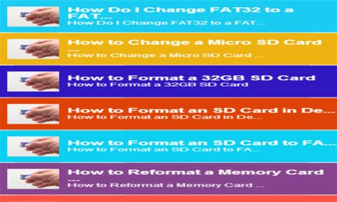 format fat32 sd card android format sd card fat32 amazon co uk appstore for android