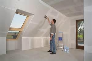 rigips decke verputzen dach ausbauen planungswelten de