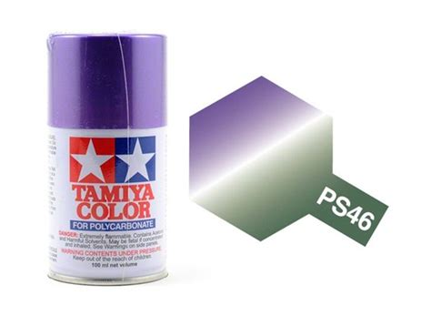 Tamiya 86009 Ps 9 Green 100ml Spray Can tamiya spray paint ps 64 iridescent purple green paints