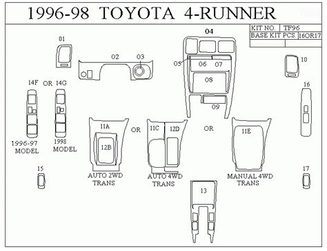 car manuals free online 2001 toyota 4runner electronic valve timing 2001 toyota 4runner sr5 fuse box 2001 free engine image for user manual download