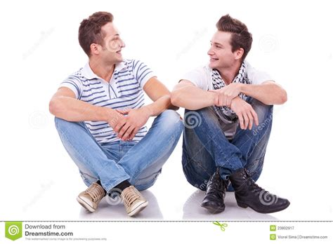 Kkpk Two Of Friends By two friends smiling to each other stock image image
