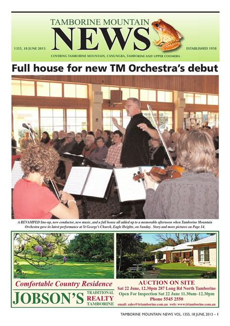 Tamborine By N Sport tamborine mtn news 1355 by tamborine mountain news issuu