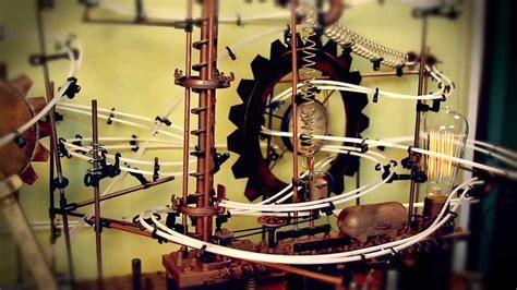 ball bearing roller coaster art project youtube