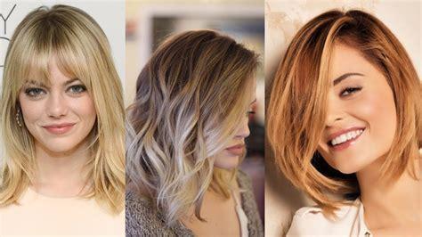 cortes de pelo corto desfilado cortes de pelo media melena a capas corte de cabello por