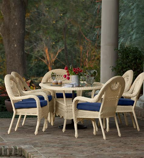 prospect hill dining table prospect hill oval dining table and 6 chairs set all