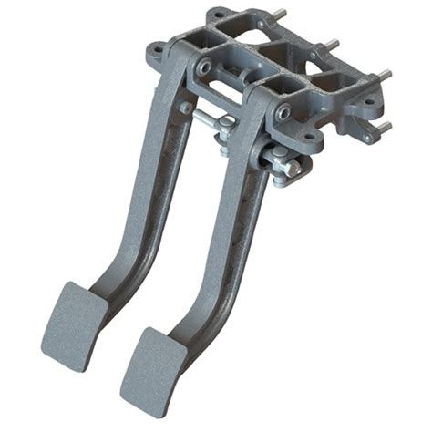 swing pedals afco 6610001 forward mount dual swing brake clutch pedals