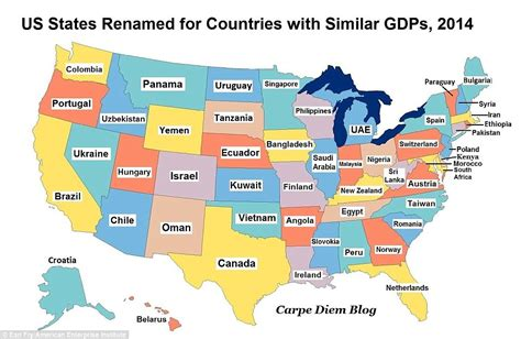 map us states countries controversial topics economy comparison of the usa china