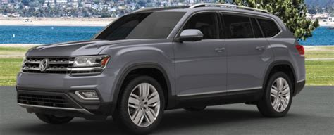 volkswagen atlas exterior paint color options