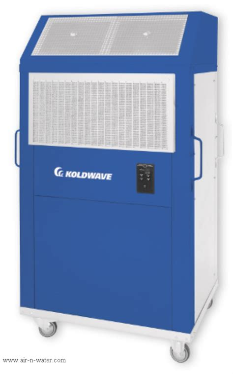 koldwave water cooled portable air conditioner koldwave 5ak39bga3aa00 36800 btu air cooled portable air