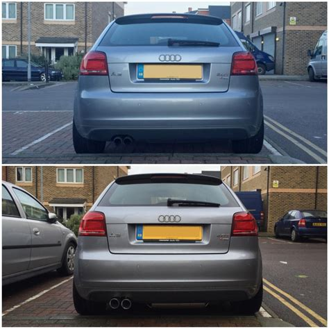 Audi S3 8l Milltek by Further Thoughts Needed On S3 8p Milltek Exhaust Tips