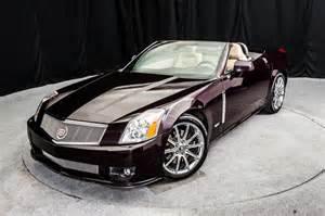 2009 Cadillac Xlr V Specs 2009 Cadillac Xlr V Black Cherry Metallic Cadillac Xlr