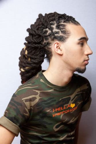 easy pin up dread design 58 black men dreadlocks hairstyles pictures