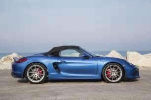 Porsche Boxstee 2016 Porsche Boxster Spyder Second Drive Review