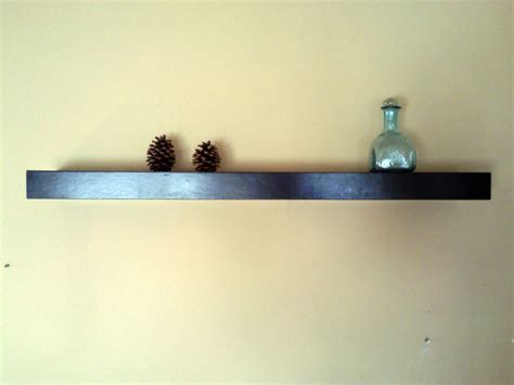 custom built floating shelves made floating shelf 42 by the chicago bench co