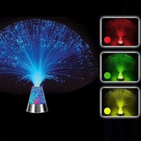 color optics led multicolor changing fiber optic light starry wedding