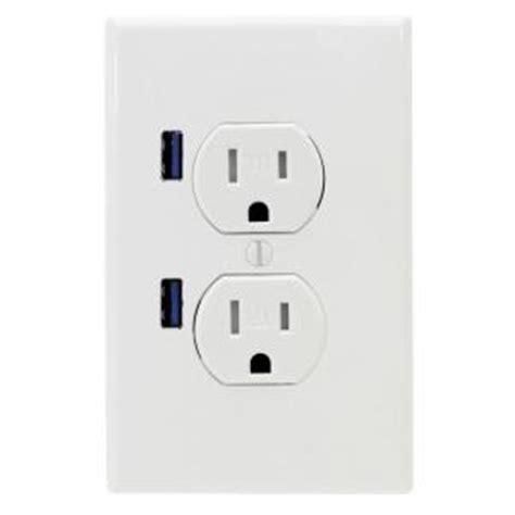 u socket 15 standard ter resistant duplex ac wall