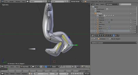 blender tutorial inverse kinematics inverse kinematics help with ik rigging blender stack