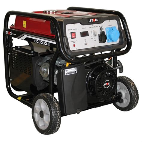 Cumpar Motor Electric 220v by Generator De Curent Senci Sc 6000e 5500w 230v Avr
