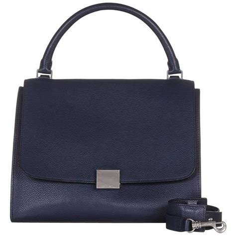 Sale Celin Navy navy trapeze bag for sale at 1stdibs