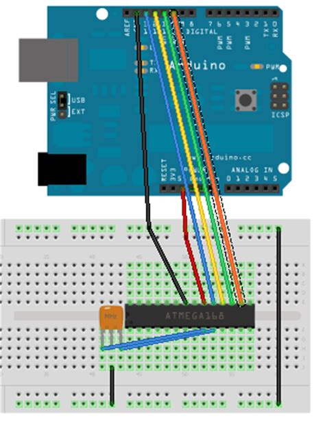arduino tutorial bootloader how to burn bootloader with uno r3 and arduinoisp sparky