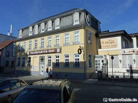 Gasthaus In Frankfurt frankfurter hof restaurant gasthaus gastst 228 tte in 60388