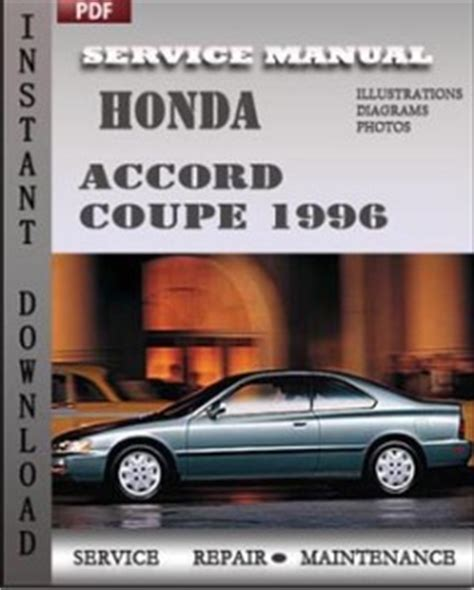 old car owners manuals 2012 honda accord electronic toll collection honda accord coupe 1996 service manual download repair service manual pdf