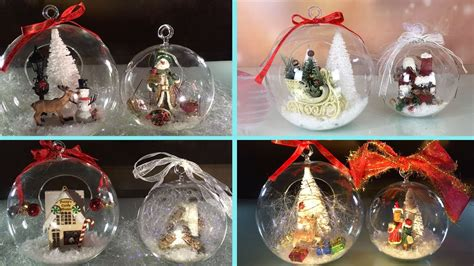diy clear glass ornaments for and new year 4a