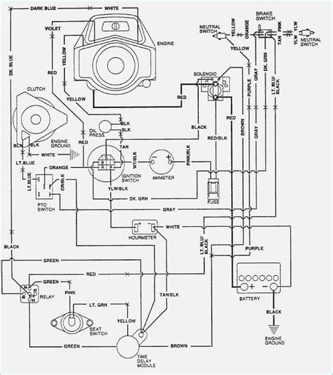 lawn mower ignition switch wiring diagram wiring diagram