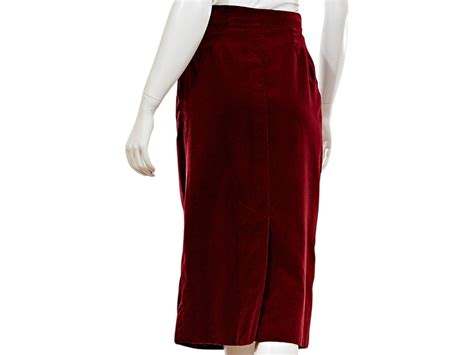 Side Slide Pencil Skirt hermes velvet pencil skirt for sale at 1stdibs