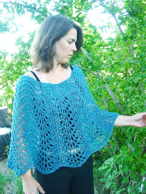 poncho free knitting pattern 251 easy lace poncho knitting and simple