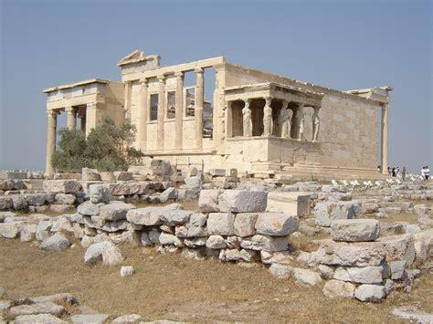 erechtheion 5c bc athenian acropolis greece architecture antiquity the list