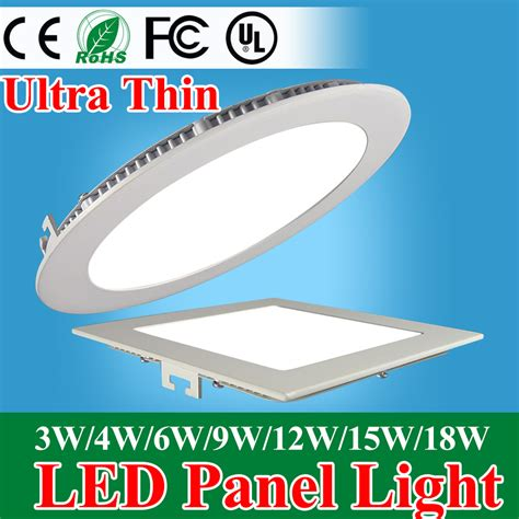thin led lights aliexpress buy ultra thin led panel downlight 3w 4w