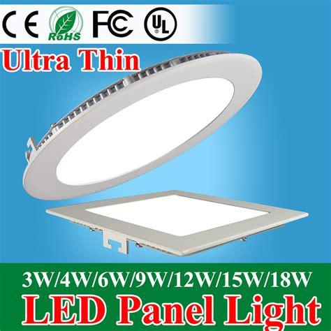 Lu Downlight 9 Watt aliexpress buy ultra thin led panel downlight 3w 4w