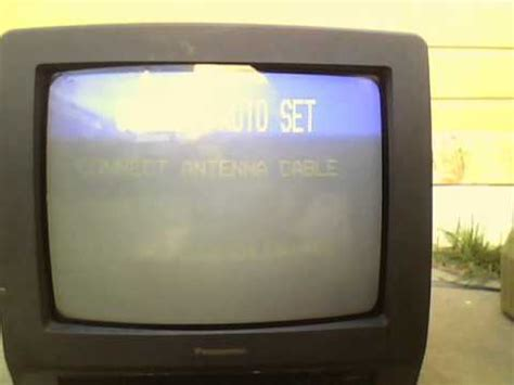 Tv Tabung 21 Inch Panasonic 1996 panasonic pv m1345 crt tv vcr combo cleaned and working