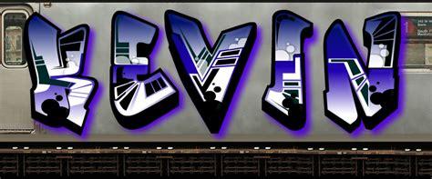 imagenes que digan kevin graffitis que digan kevin en 3d