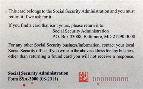 social security card back template www imgkid the