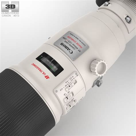 Canon Ef 800mm F 5 6 L Is Usm canon eos 70d with ef 800mm f 5 6l is usm 3d model hum3d