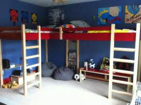 Metal Bunk Bed With Desk Underneath Double Loft Bed Modern Kids Beds Louisville